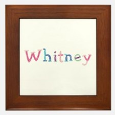Whitney Princess Balloons Framed Tile