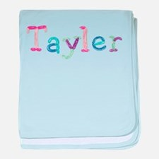 Tayler Princess Balloons baby blanket