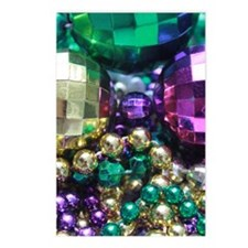 Colors of Mardi Gras Postcards (Package of 8)