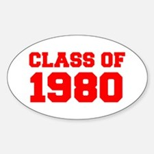 CLASS OF 1981-Bau red 501 Decal