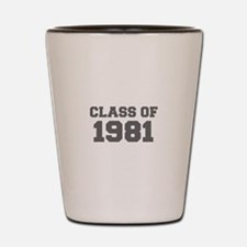CLASS OF 1981-Fre gray 300 Shot Glass