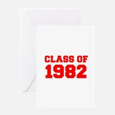 CLASS OF 1982-Fre red 300 Greeting Cards