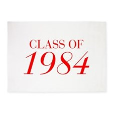 CLASS OF 1984-Bau red 501 5'x7'Area Rug