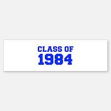 CLASS OF 1984-Fre blue 300 Bumper Bumper Bumper Sticker