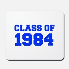 CLASS OF 1984-Fre blue 300 Mousepad