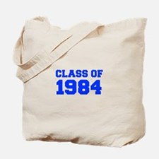 CLASS OF 1984-Fre blue 300 Tote Bag