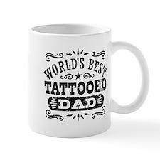 World's Best Tattooed Dad Mug