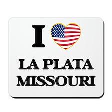 I love La Plata Missouri Mousepad