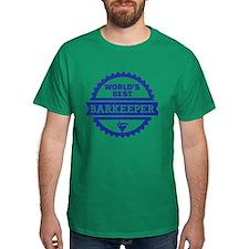 World's best barkeeper bartender T-Shirt