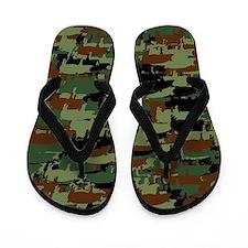Piggyflage Flip Flops