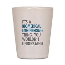 Biomedical Engineering Shot Glass