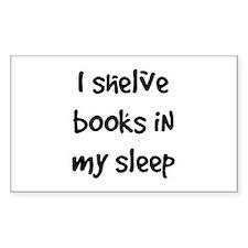 shelve books Decal