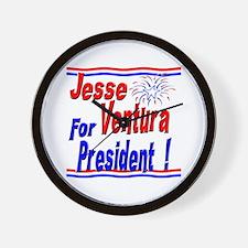 Ventura for President Wall Clock