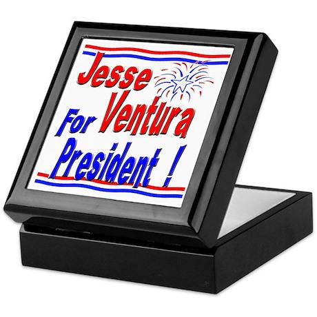 Ventura for President Keepsake Box