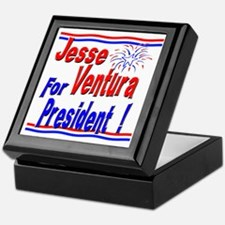 Ventura for President Keepsake Box