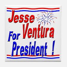 Ventura for President Tile Coaster