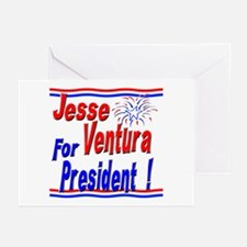 Ventura for President Greeting Cards (Pk of 10)