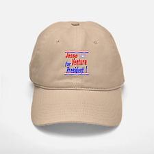 Ventura for President Baseball Baseball Cap