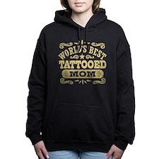 World's Best Tattooed Mo Women's Hooded Sweatshirt