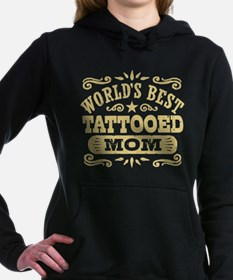 World's Best Tattooed Mo Women's Hooded Sweatshirt