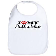 Staffordshire - I Love My Bib
