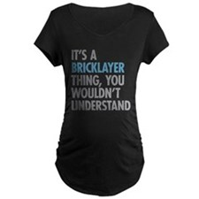 Bricklayer Maternity T-Shirt