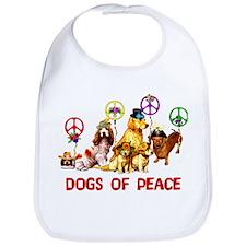 Dogs Of Peace Bib