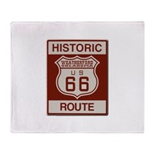Weatherford Route 66 Throw Blanket