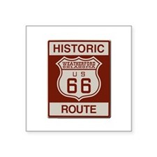 Weatherford Route 66 Sticker
