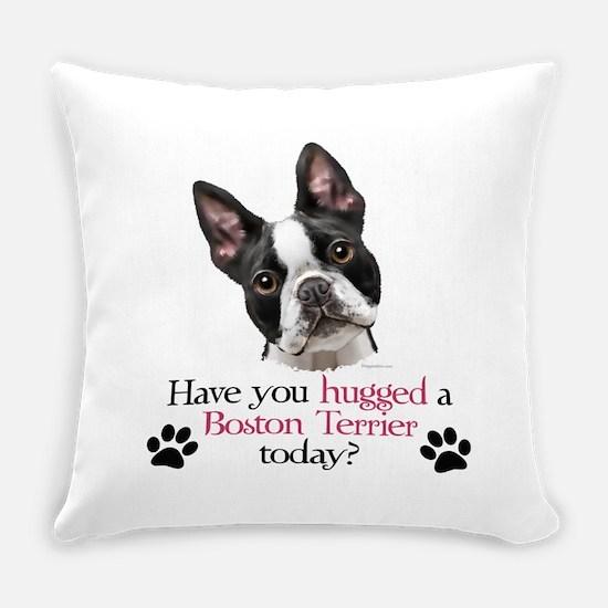 Boston Hug Everyday Pillow