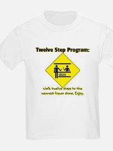 Twelve Steps to Liquor Store T-Shirt