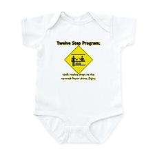 Twelve Steps to Liquor Store Infant Bodysuit