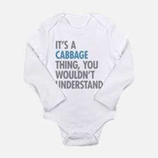 Cabbage Thing Body Suit
