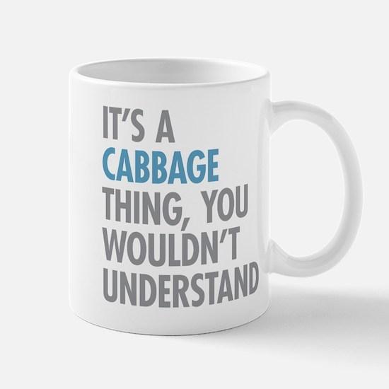 Cabbage Thing Mugs