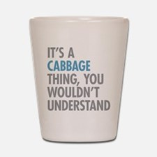 Cabbage Thing Shot Glass