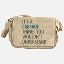 Cabbage Thing Messenger Bag