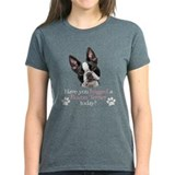 Boston terrier mom Tops
