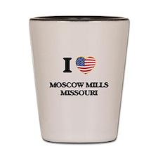 I love Moscow Mills Missouri Shot Glass