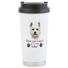 Westie Hug Travel Mug