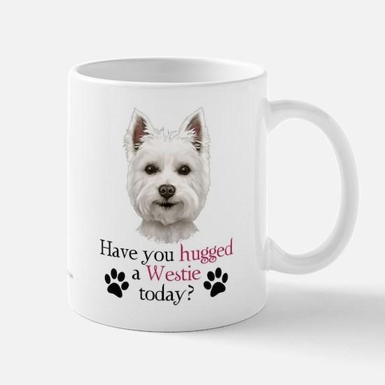 Westie Hug Mug