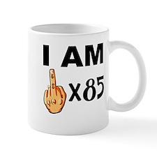 I Am Middle Finger Times 85 Mugs