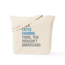Cattle Farming Tote Bag