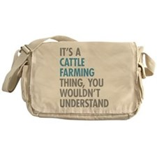 Cattle Farming Messenger Bag