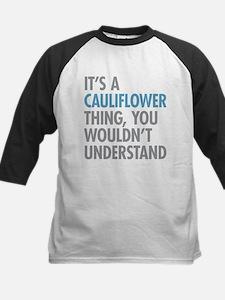 Cauliflower Thing Baseball Jersey