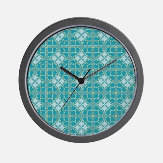 Muted Medallion Wall Clock