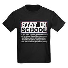 Don't Stay in School T