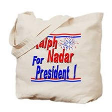 Nadar for President Tote Bag