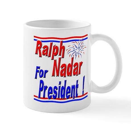Nadar for President Mug