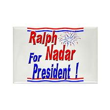 Nadar for President Rectangle Magnet