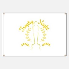 Trophy Night Banner